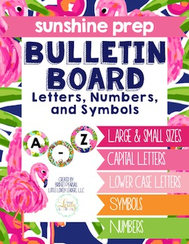 Create Your Own Banner: Bulletin Board Letters, Numbers, & Symbols