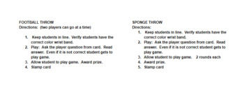 Create Your Own Biology STAAR Carnival