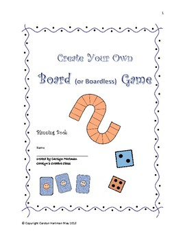 Create Your Own Board (or boardless) Game