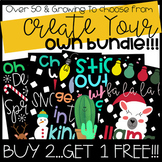 Create Your Own Bulletin Board or Door Decor Bundle: Buy 2 Get 1 FREE