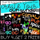 Create Your Own Bulletin Board or Door Decor Bundle: Buy 4 Get 2 FREE