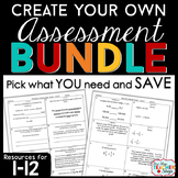 Create Your Own Bundle for 1-12   Spiral Assessments   You PICK, You SAVE!