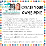 Create Your Own Bundle of Science Teaching Junkie Products