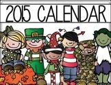 Create Your Own Calendar - parent gift