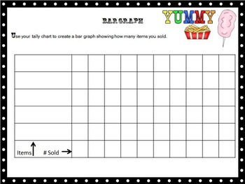 Create Your Own Carnival Food Stand Math Project