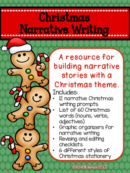 Christmas Narrative Writing