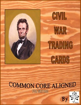 Create Your Own Civil War Trading Cards