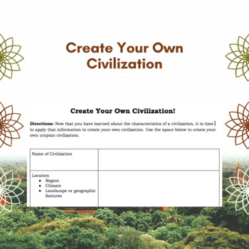 Create Your Own: Civilization
