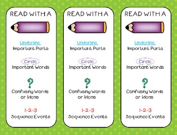 Close Reading Performance Tasks - Create Your Own