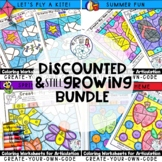Create-Your-Own-Code Coloring Pages Bundle for Speech Therapy
