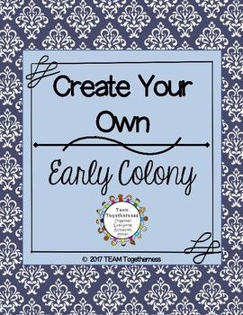 Create Your Own Colony