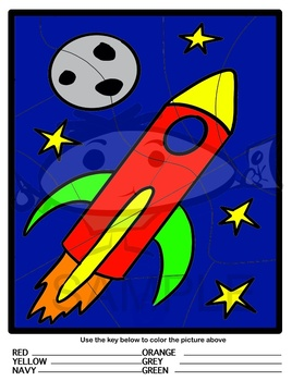 Create Your Own Color By...Outer Space