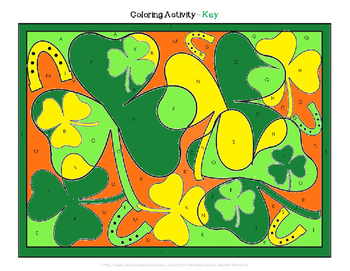 Make Your Own Coloring Activity - St. Patrick's Day Theme