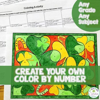St. Patrick's Day Coloring - Make Your Own