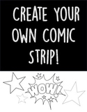 Create Your Own Comic Strip! Fun Activity for Storyboardin