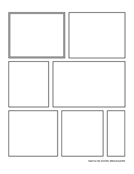 Comic Strip Create-Your-Own Templates—Pack of Seven, FREE!