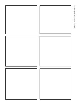 Comic Strip Create-Your-Own—Pack of Seven FREEBIE Templates!