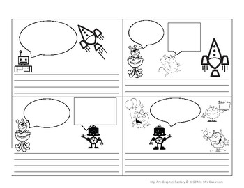 Create Your Own Comic Strips