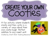 Create Your Own Cooties! ~ Writing Activities Pack ~ Perfect for Insect Unit