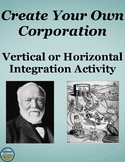 Create Your Own Corporation Activity The Gilded Age