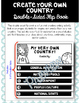 Create Your Own Country Double-Sided Flip book
