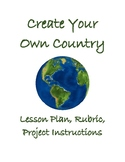 Create Your Own Country Lesson Plan