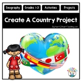 End of the Year Activities: Create a Country with Fun Geography Activities