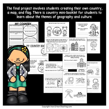 Back to School Activities: Create a Country Project {Geography Activities}