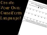 Create Your Own Cuneiform!