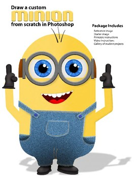 Create Your Own Custom Minion from Scratch in Photoshop