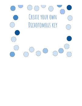 Create Your Own Dichotomous Key with Rubric