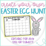 Create Your Own Easter Egg Hunt for Any Skill or Subject- Editable!