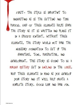 Edgar Allan Poe: Create Your Own Poe Inspired Short Story!