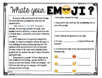 Create Your Own Emoji Activity
