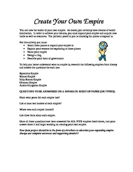 Create Your Own Empire