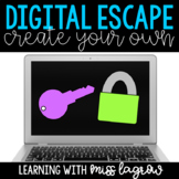 Create Your Own Escape - Digital Breakout Template