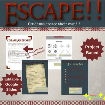 Escape Room   Students Create Their Own
