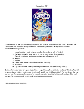 Create Your Own Fairy Tale-Group Assignment