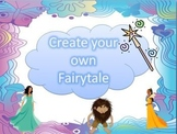 Create Your Own Fairytale Digital Writing Storyboard Liter