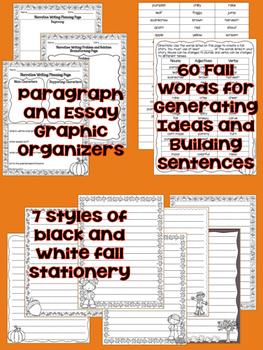 Fall Narrative Writing Set