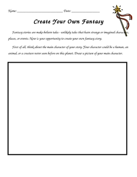 Create Your Own Fantasy Story