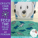Create Your Own Feed The Animal: Polar Bear and Penguin
