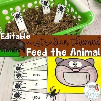 Create Your Own Feed the Animal: Australian Animals