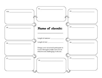 Create Your Own Fitness Circuit