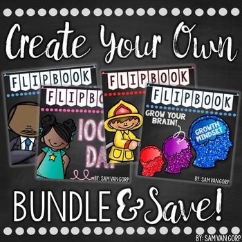 Create Your Own Flip Book BUNDLE