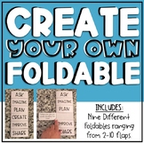Foldable Template (Editable)