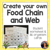 Create Your Own Food Chain and Web