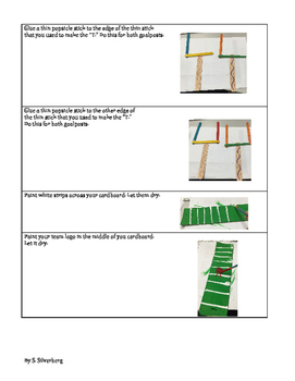 Create Your Own Football Team (writing and craft project)- FREEBIE