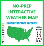 No Prep Weather Map