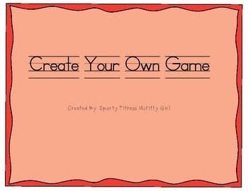 Create Your Own Game
